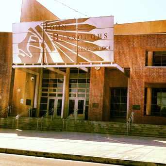 Photo of John Burroughs High School in Chandler Park, Burbank