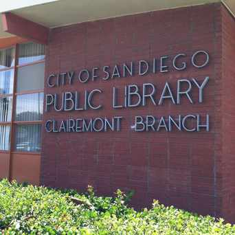 Photo of Clairemont Branch Library in Bay Park, San Diego