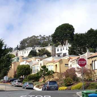 Photo of Monterey Blvd & Valdez Ave in Westwood Park, San Francisco