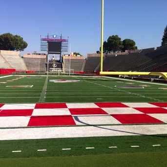 Photo of Bulldog Stadium in Fresno