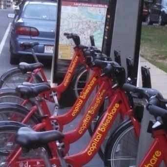 Photo of Capital Bikeshare in North Rosslyn, Arlington
