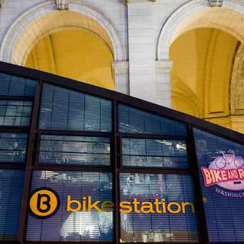Photo of Union Station Bike Station in H Street-NoMa, Washington D.C.
