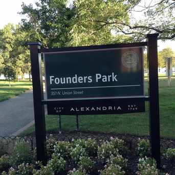 Photo of Founders Park, Alexandria VA in Old Town, Alexandria