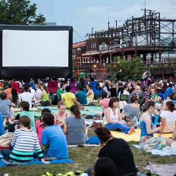 Photo of NoMa Summer Screen in Washington D.C.