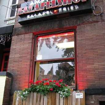 Photo of Amsterdam Falafelshop in Adams Morgan, Washington D.C.