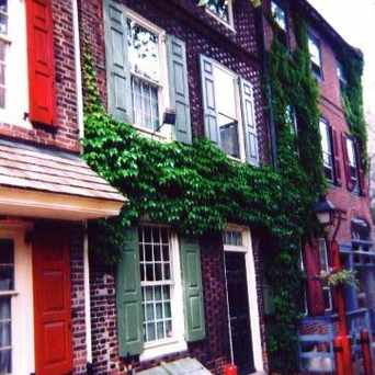 Photo of Elfreth's Alley in Center City East, Philadelphia