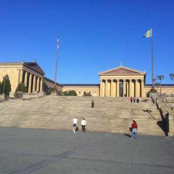 "Photo of ""Rocky"" Steps in Fairmount Park, Philadelphia"
