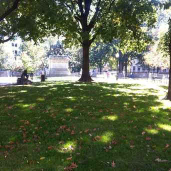 Photo of McPherson Square in Dupont Circle, Washington D.C.