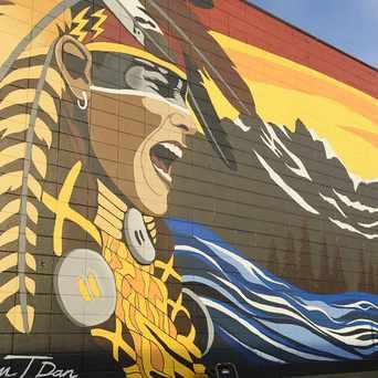 Photo of Kalum Teke Dan Urban Mural in Calgary