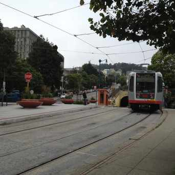 Photo of N-Judah Tunnel in Duboce Triangle, San Francisco