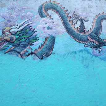 Photo of Mural, 700 Block of Clay in Chinatown, San Francisco