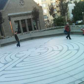 Photo of The Labyrinth At Grace Cathedral in Nob Hill, San Francisco