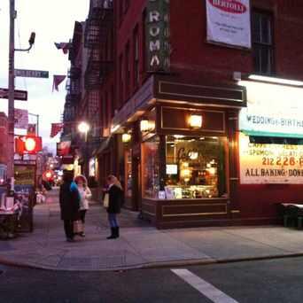 Photo of Caffé Roma in NoLita, New York
