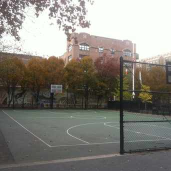 Photo of Fred Samuel Playground in Central Harlem, New York