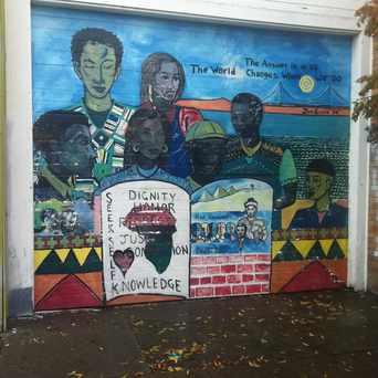 Photo of Seek Self Knowledge Mural in Longfellow, Oakland