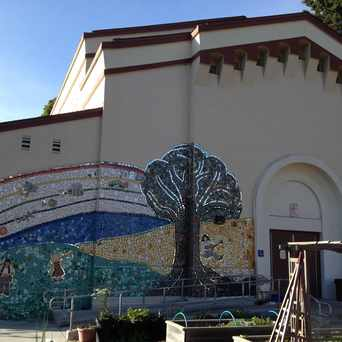 Photo of Tile And Mirror Mosaic At West Portal Elementary Garden in West Portal, San Francisco