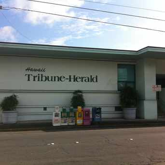Photo of Hawaii Tribune Herald in Hilo