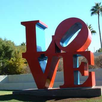 Photo of LOVE Sign in Downtown, Phoenix