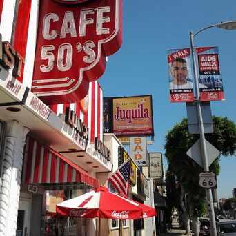 Photo of Cafe 50'S, Santa Monica Boulevard, Los Angeles, CA in West Los Angeles, Los Angeles