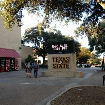 Photo of texas state university in San Marcos