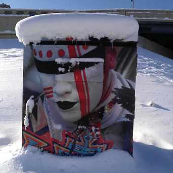Photo of Street Electrical Box Mural in Seward, Minneapolis