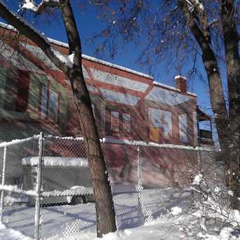Photo of House Mural in Cedar-Riverside, Minneapolis