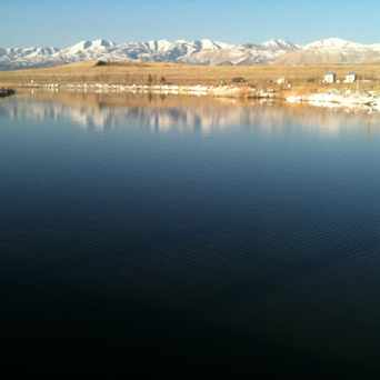 Photo of Oquirrh Lake in South Jordan