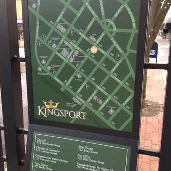 Photo of Downtown Kingsport Walking Map in Kingsport