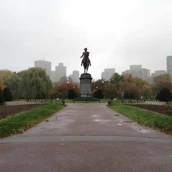 Photo of George Washington Statue in Beacon Hill, Boston