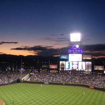 Photo of Coors Field in Five Points, Denver