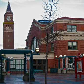 Photo of King Street Station in Pioneer Square, Seattle