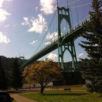 Photo of St Johns Bridge in Portland