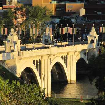 Photo of Centre St Bridge in Chinatown, Calgary