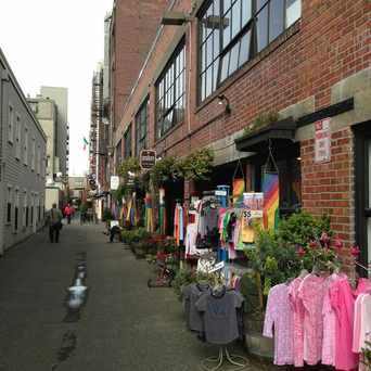 Photo of Post Alley in Downtown, Seattle