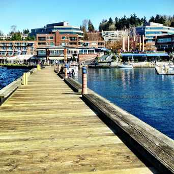 Photo of Carillon Point Boardwalk in Kirkland