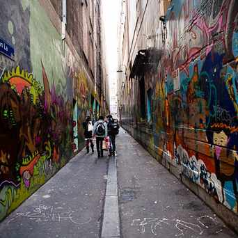 Photo of Union Lane in Melbourne