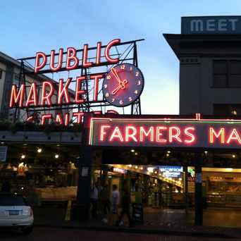Photo of Pike Place Market in Downtown, Seattle
