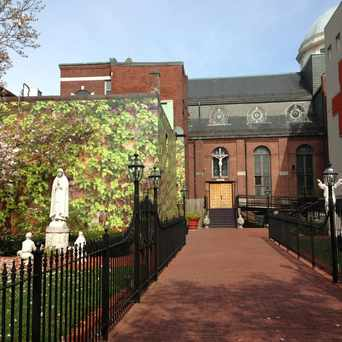 Photo of St Leonard Church in North End, Boston