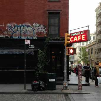 Photo of Fanelli Cafe in SoHo, New York