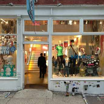 Photo of Kid Robot in SoHo, New York