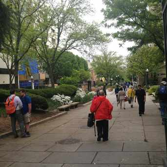 Photo of George Washington University Plaza in Foggy Bottom - GWU - West End, Washington D.C.