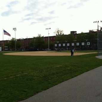 Photo of Marian Anderson Baseball Field in Graduate Hospital, Philadelphia