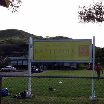 Photo of Kaelepulu Elementary School in Kailua