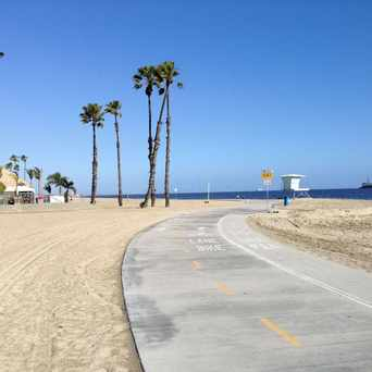 Photo of Long Beach, Beach Bike Path in Long Beach