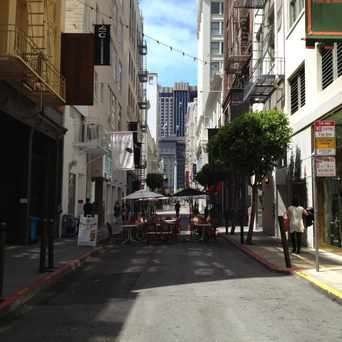Photo of Maiden Lane in Downtown-Union Square, San Francisco
