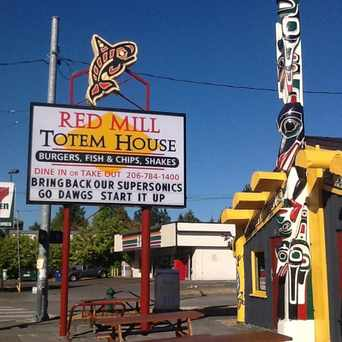 Photo of Red Mill Totem House in Ballard, Seattle
