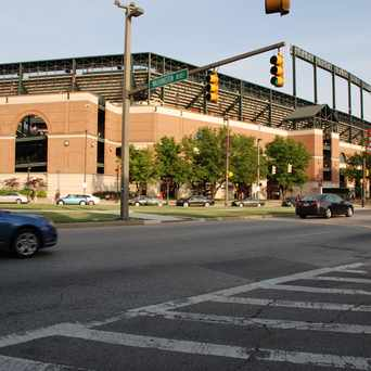 Photo of Orioles Park in University of MD at Baltimore, Baltimore