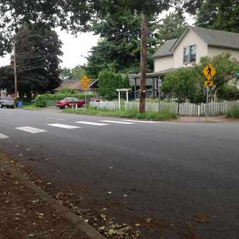 Photo of Pedestrian Friendly Cross Walk in Hough, Vancouver