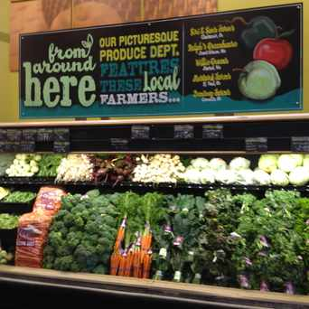Photo of Local Produce Featured in Cascade Park, Vancouver