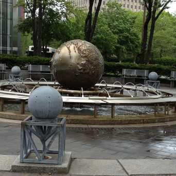 Photo of Fountain Globe Main st Cambridge, Ma in Kendall Square, Cambridge